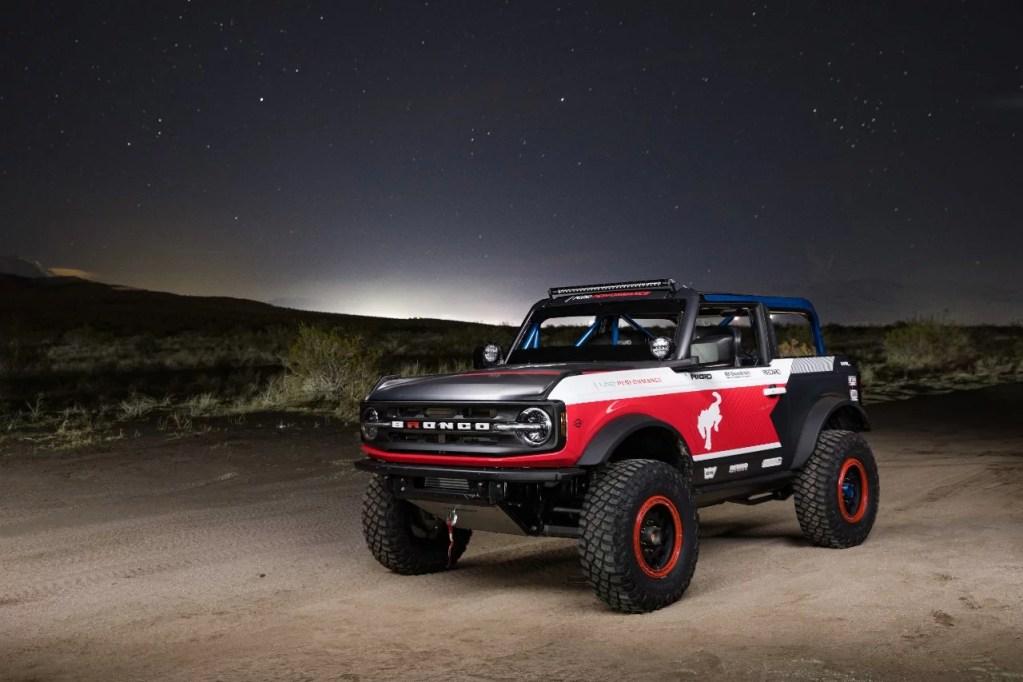 Bronco 4600 Race Vehicle