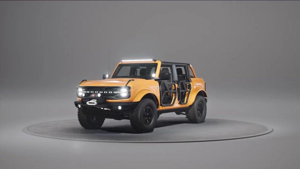 2021 Ford Bronco Customization & Personalization