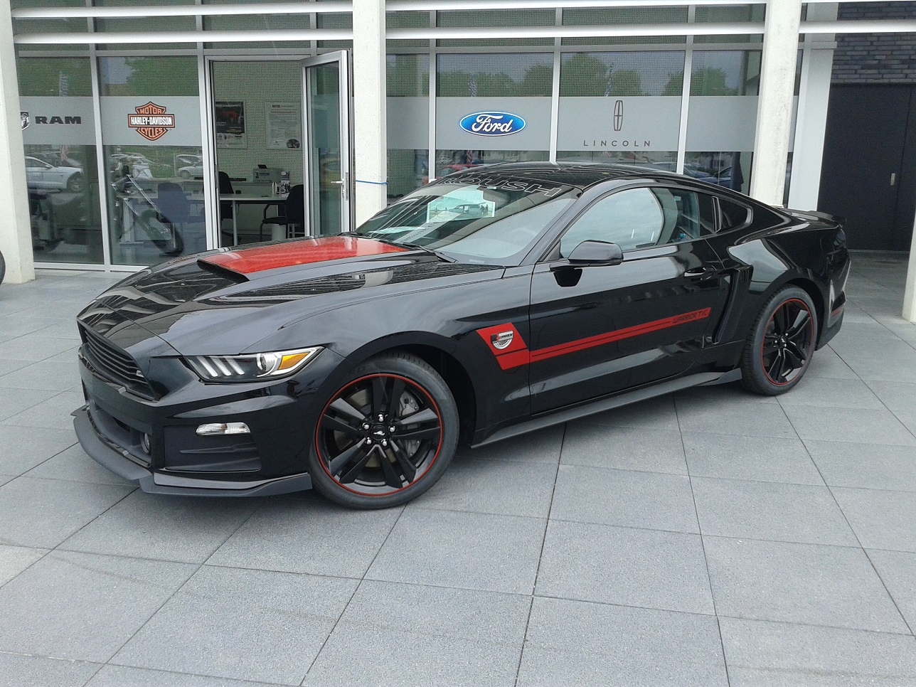 roush warrior mustang in