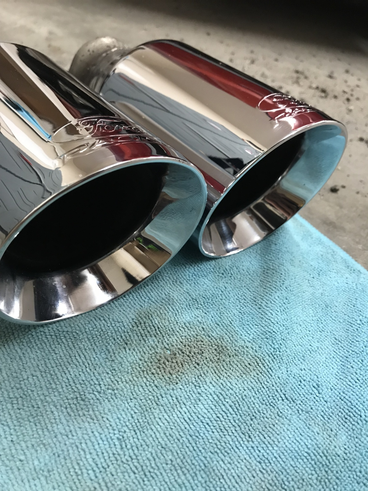 ford racing exhaust tips 2015 s550