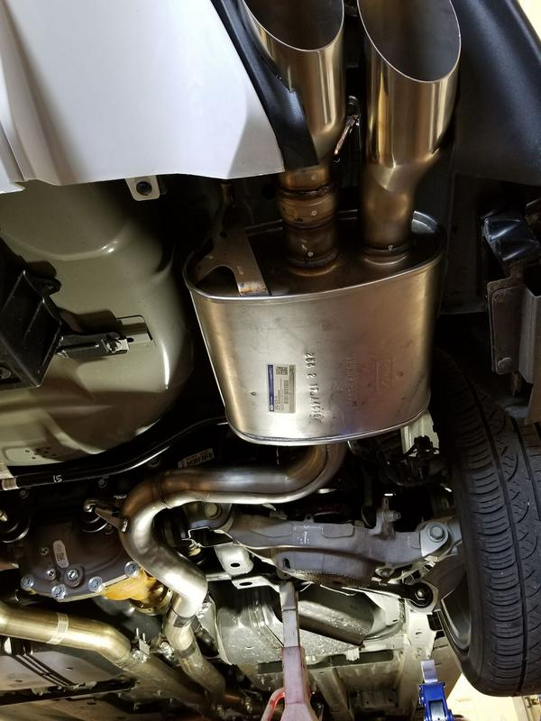 2018 active exhaust install guide