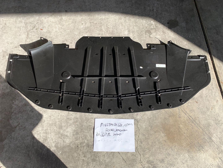 Front splitter (from mustang gt), black front splitter and belly pan. 15 17 Brand New Oem Pp Belly Pan 2015 S550 Mustang Forum Gt Ecoboost Gt350 Gt500 Bullitt Mach 1 Mustang6g Com