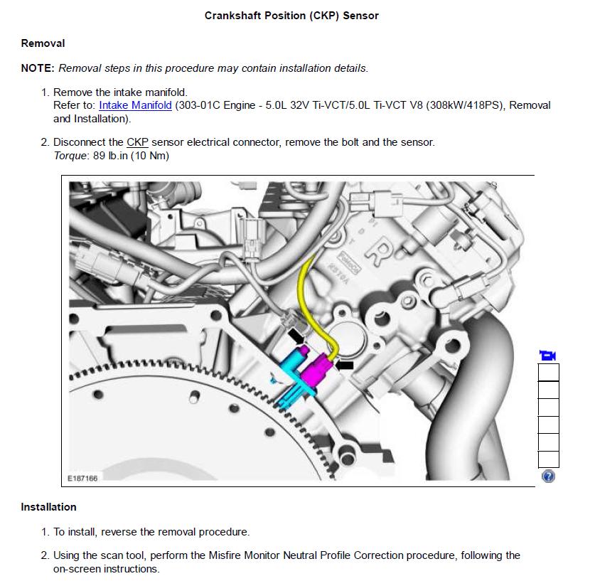 Crank Position Sensor Location Problem
