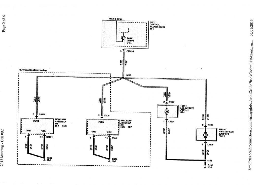 medium resolution of 2015 mustang wiring diagram