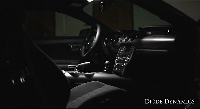 2015 Mustang Interior LED Lighting Installation By Diode