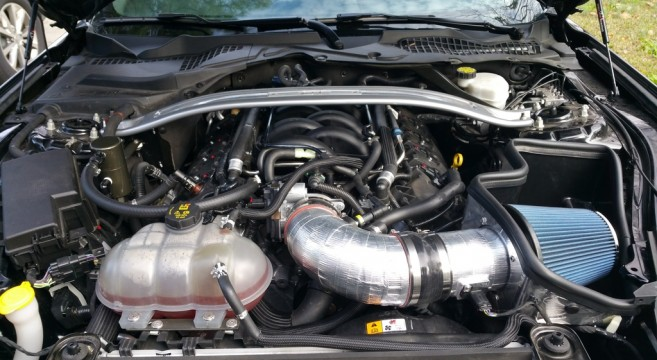 Ford 2 5 Liter Engine Diagram Gt350 Intake Manifold Delivers Big Power To S550 Mustang