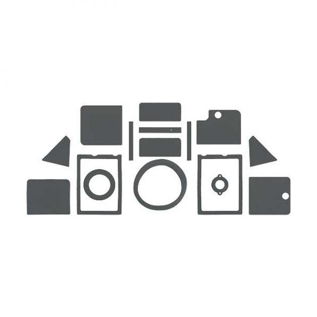 Daniel Carpenter Ford Mustang Heater Seal & Gasket Set