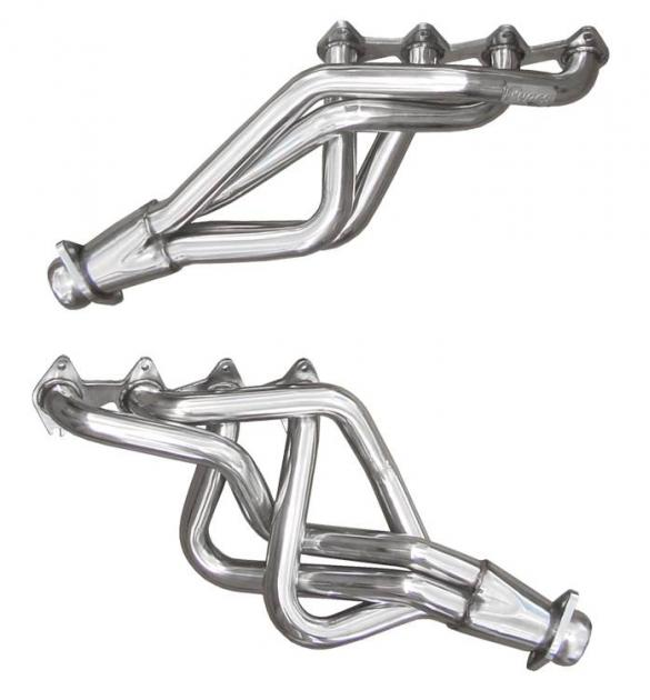 Pypes Exhaust Header 05-10 Mustang GT 3/4 in Length Design