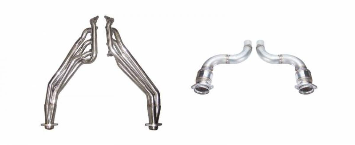 Pypes Mustang Exhaust Header 1.75-1.875 in Long Tube