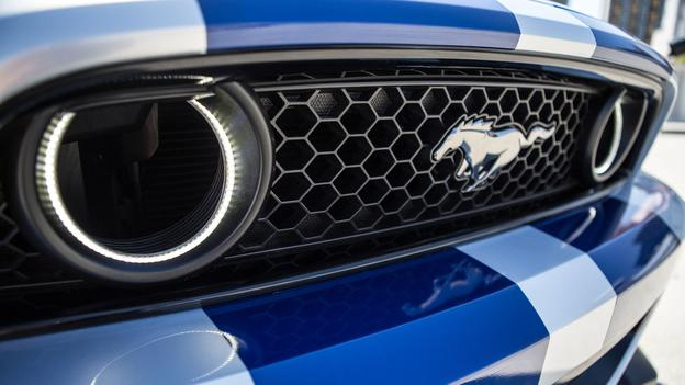 Fog Light Grille Oracles  Mustang Evolution