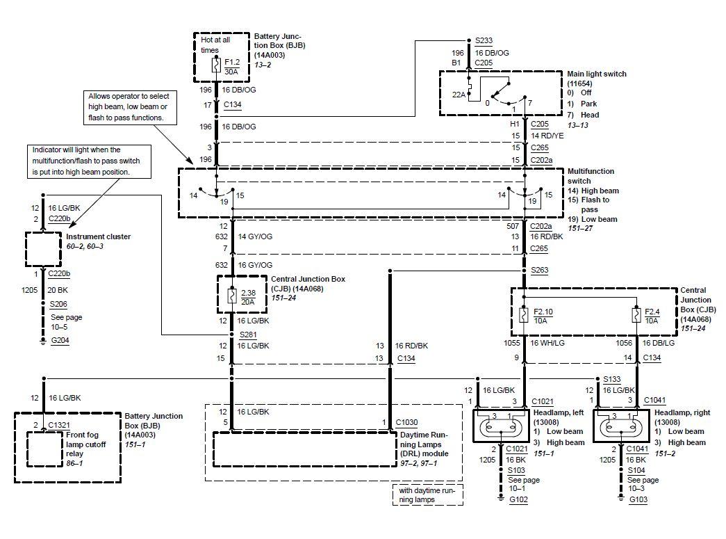2000 v6 mustang stereo wiring diagram club car ds hi 99 01 svt cobra high beam problems australia