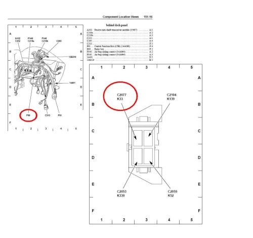 small resolution of 2007 mustang horn fuse diagram