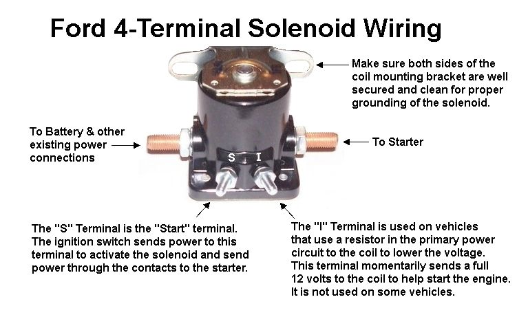 64 ford f100 solenoid wiring