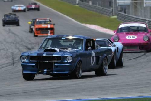 Mustang Race Car