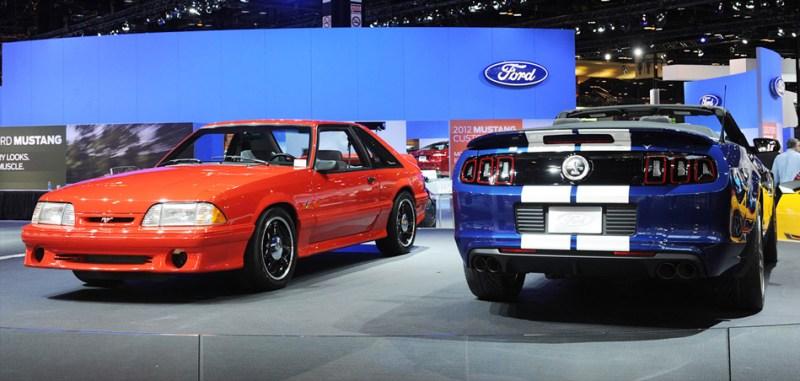 Cobry naChicago Auto Show / zdjęcie mustangsdaily.com