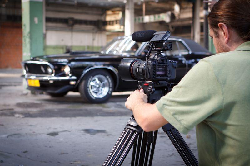 Grzesiek Serej na planie filmu MR2012