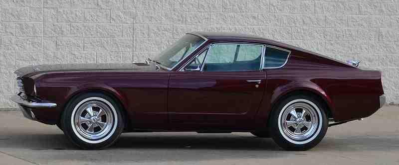 Skrócony o16 cali Mustang Fastback