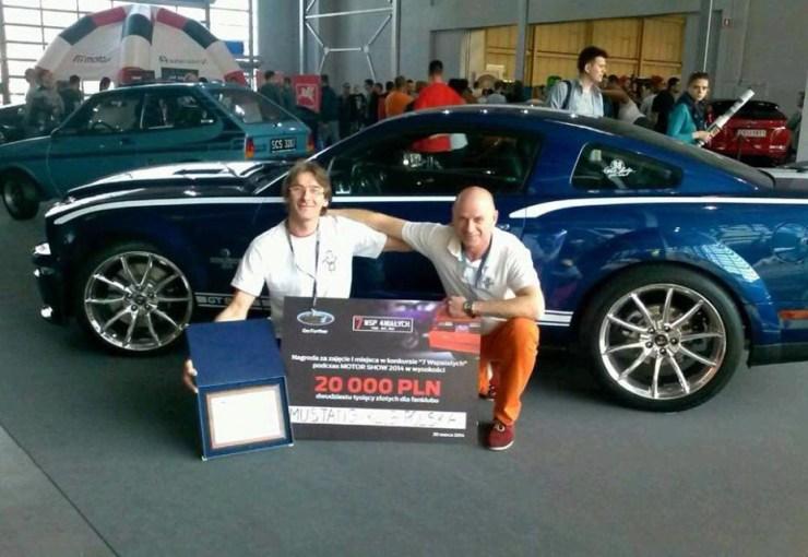 1. miejsce Mustang Klub Polska