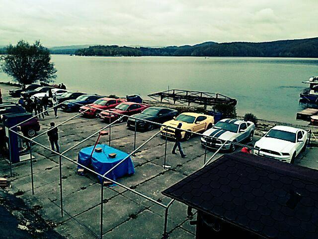 Pierwszy Bieszczadzki Mustang Trip.