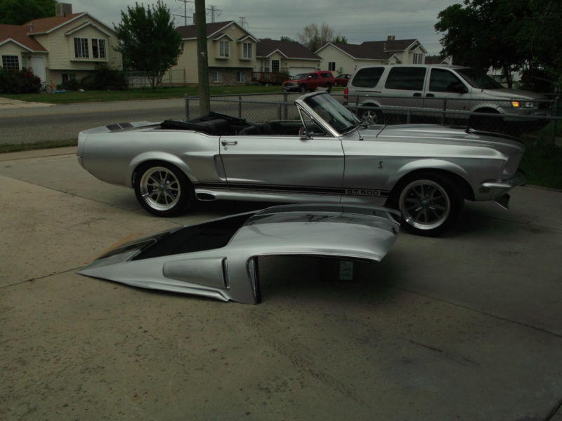 Only extra time and money. Ebay Custom 1968 Mustang Eleanor Convertible With Fastback Hard Top Mustang Specs