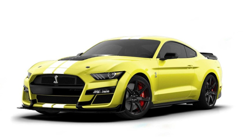 2021 Ford Mustang GT500 Grabber Yellow
