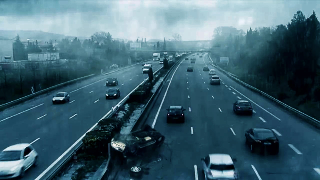 After Crash Scene - After Effects Visual Effects