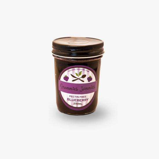 Grammies Jammies Pectin-Free Bluberry Jam