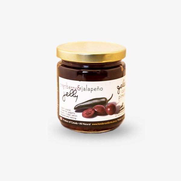 Henderson Farms Cranberry + Jalapeno Jelly