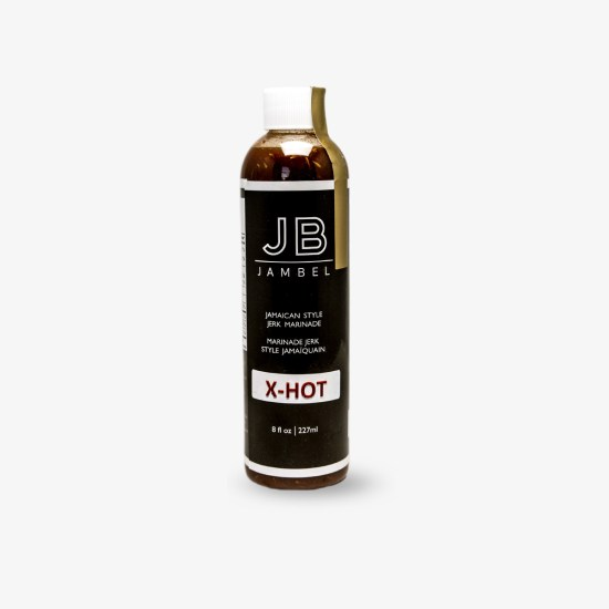 Jamaican Style Jerk Marinade (X-HOT) – 227ml