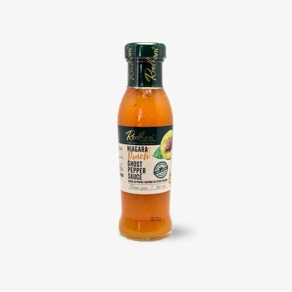 Rootham Gourmet Preserves Niagara Peach Ghost Pepper Sauce