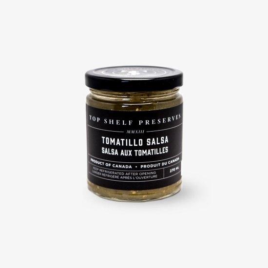 Top Shelf Preserves Tomatillo Salsa