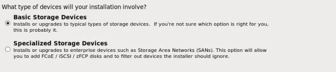 Type of Device will your installation involve