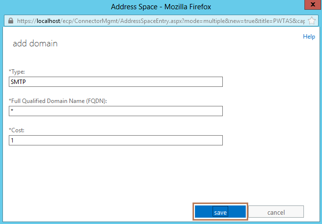 how to configure send connector in exchange 2010