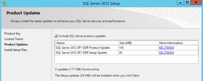Install SQL Server 2012 in Windows Server 2012 R2