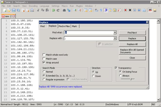 SRX-Notepad