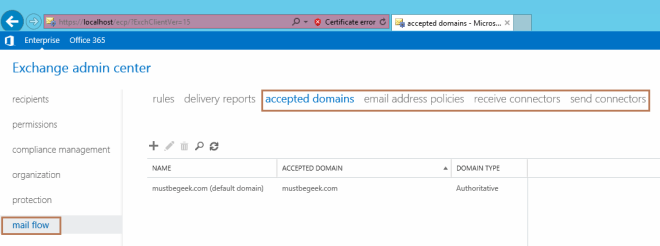 Configure Exchange Server 2016 to Send and Receive External Emails