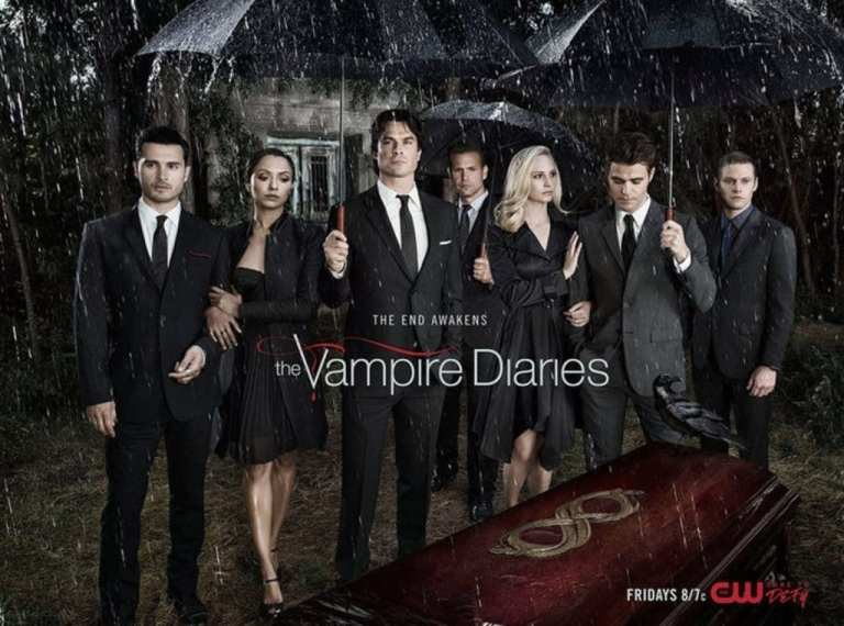 Vampire Diaries Promo Photo for Vampire TV show