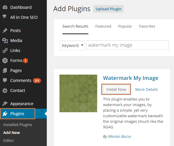 Prevent Image Theft with Watermark My Image Plugin in WordPress
