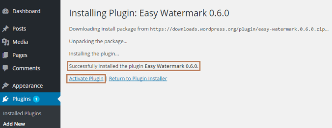 Prevent Image Theft with Easy Watermark Plugin in WordPress