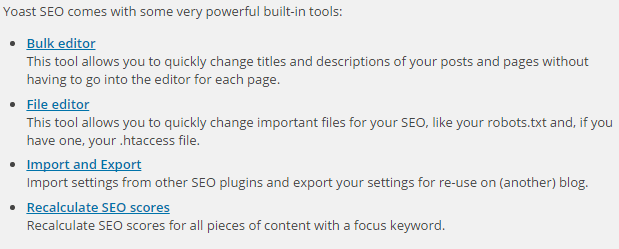 Setup WordPress SEO Plugin