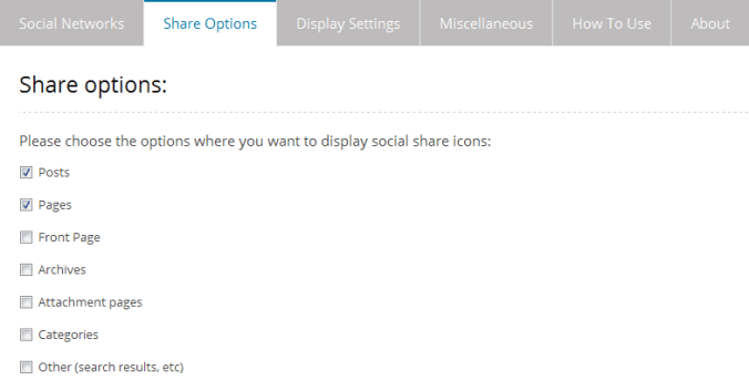 3.Share Options