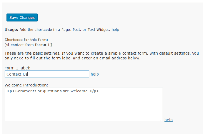 Create Contact Page with Fast Secure Contact Form in WordPress