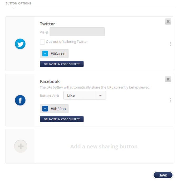 Add Social Sharing Button in WordPress with Flare Plugin
