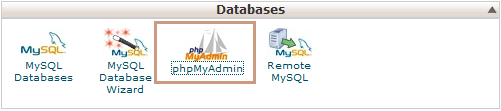 Backup WordPress Database using phpMyAdmin