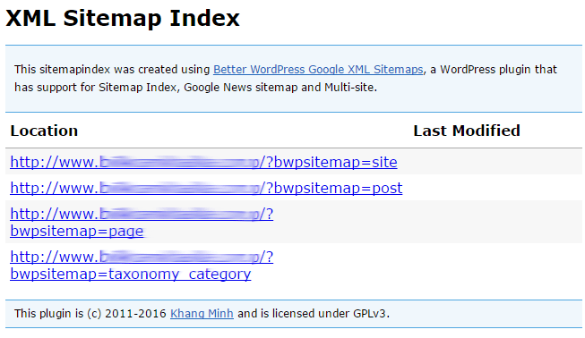 Generate XML Sitemaps Using Better WordPress Google XML Sitemaps
