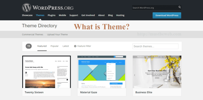 what is theme in wordpress