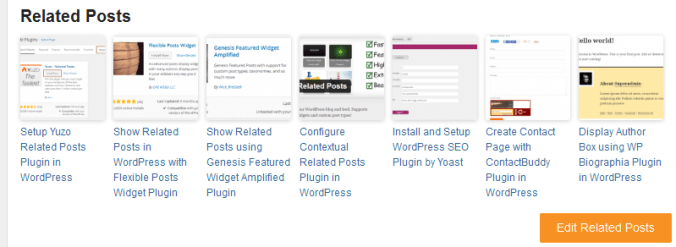 related-post in Different Methods to Promote Old Posts in WordPress