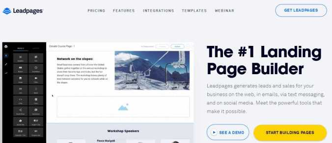 leadpage The 5 Best WordPress Plugins For Creating awsome Landing Pages
