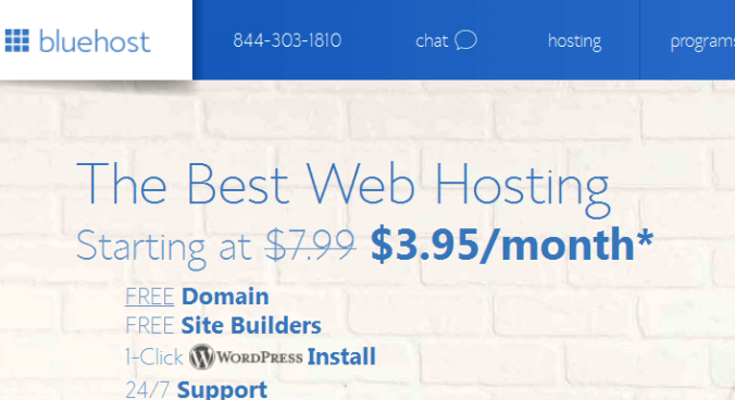 bluehost Top 6 Best Web Hosting providers of 2017