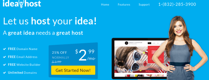 ideahost The Best Lowest Price Web Hosting Providers of 2017